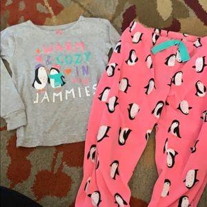 🌈4/$25🌈 Carters Fleece Pant Pajamas
